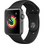 Ceas Apple Seria 3 gri stelar 42mm